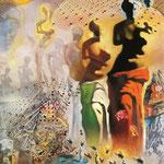 Allucinogeni per Torero - 1969/70 - Olio su tela