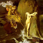 Ruggero libera Angelica - 1819