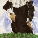 Bella con collare bianco - 1917 - Olio su tela