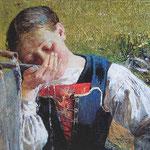 Bevendo alla fontana - 1887