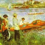 Canottieri a Chatou - 1879 - Olio su tela