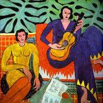 Musica - 1939 - Olio in tela