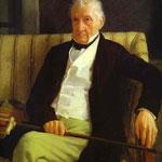 Ritratto di Hilaire De Gas - 1857 - Olio su tela
