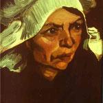 Contadina - 1885 - Olio su tela