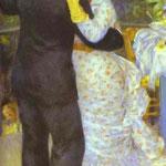 Ballo di paese (Aline Charigot e Paul Lhote) - 1883 - Olio su tela