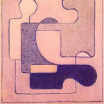 Studio per affresco, 1935, pastello, cm 16x14,5.