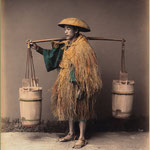 Coolie (water carrier) ,1868