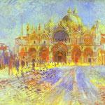 Piazza San Marco, Venezia - 1881 - Olio su tela