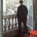 A Young Man at His Window, 1875