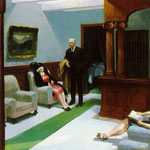 Edward Hopper - L'atrio dell'hotel (1943)