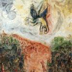 La caduta di Icaro - 1975 - Olio su tela