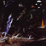 L'Orage Paysage noir 1926