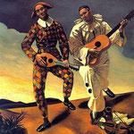 Arlecchino e Pierrot - 1924
