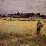 In the Wheat Fields at Gennevilliers, 1875