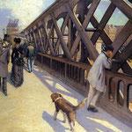 The Pont du Europe, 1876