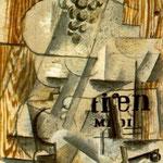 Georges Braque - Piatto di frutta (1912)