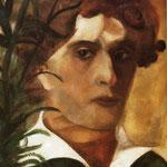 Autoritratto - 1914 - Olio su cartone
