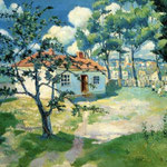 Kazimir Malevich - Primavera (1905)