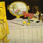 La lezione di Pittura - 1919 - Olio su tela