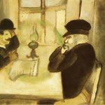 Il Giornale Smolensk - 1914 - Olio su carta su tela