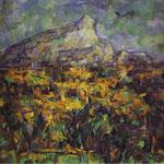 Paesaggio di Aix (Monte Sainte-Victoire) - 1905 -  Olio su tela