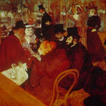 En el Moulin Rouge, 1892