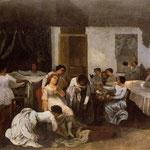 Vestizione della ragazza morta - 1855