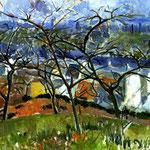 Paesaggio vicino Chateaux - 1904