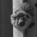 Les amoureux du quai du Louvre, Paris, 1955