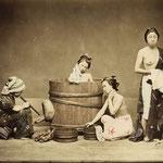 Scene de la vie japonaise, vers 1875-1881