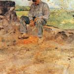 Il giovane Routy - 1883 - Olio su tela