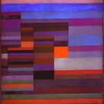 Fire in the Evening. 1929. Oil on board. 37 x 36 cm. The Museum of Modern Arts, New York, NY, USA.