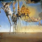 La tentazione di Sant'Antonio - 1946 - Olio su tela