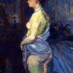 Woman Lifting her Chemise