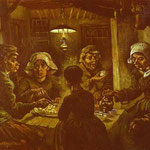 I mangiatori di patate - Aprile 1885 - Olio su tela