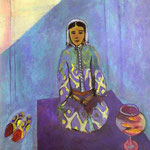 Zorah sulla Terrazza - 1912 - Olio su tela