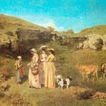 Ragazze del villaggio - 1851