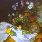 Natura morta con fiori e frutta - 1888-1890 - Olio su tela