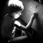 Vincent, 5 ans, 1945