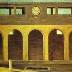L'enigma dell'ora - 1911 - Olio su tela