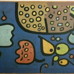 Fruits on blue bottom, 1938