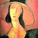 Portrait de Jeanne Hebuterne, 1918