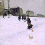 Sulla neve, 1875