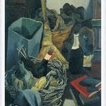 Renato Guttuso - Un angolo dello studio a via Pompeo Magno, 1941-42