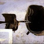 Georges Braque - Ad ali spiegate (1956)