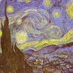 La notte stellata a Saint-Remy - 1889 - Olio su tela