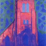 Piet Mondrian - Chiesa vicino a Domburg - 1910/1911 - Olio su tela