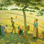 Apple Picking at Eragny-sur-Epte, 1888