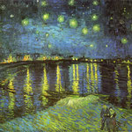 Starry Night Over the Rhone, 1888