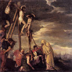 Calvary (after Veronese), 1858